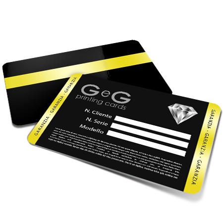 card garanzia