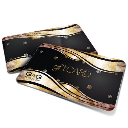 gift card in pvc