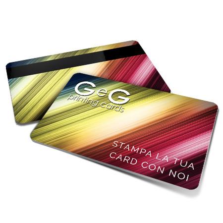 card personalizzate in pvc